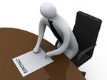 97340-3d-Businessman-Leaning-Over-A-Table-To-Sign-A-Contract