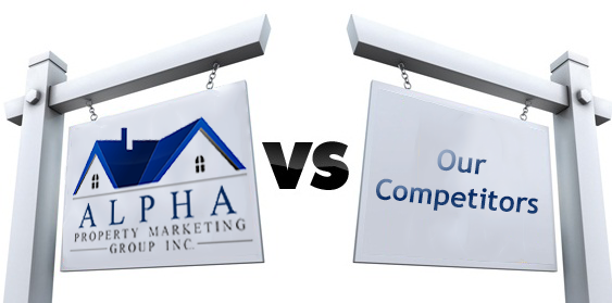 AlphaSold Vs. Competitors Logo