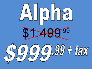 Pricing Alpha Black